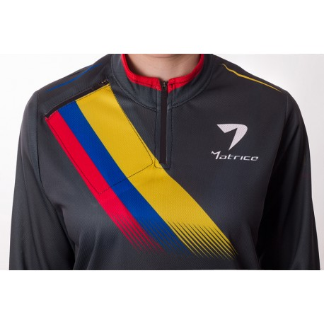 Camiseta Colombia Invierno Mujer